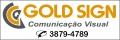 Gold Sign - COMUNICAÇÃO VISUAL