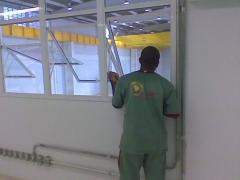 Limpeza vidros e persianas