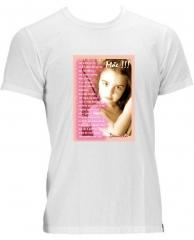 Camiseta personalizada com a idéia que preferir para dar de presente para alguém especial  - 41 3019-9878