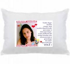 Fronha personalizada para sonhar com quem vc ama - fotoplug@gmail.com 41 3019-9878