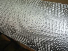 Cilindro gravado para gofragem de guardanapo em guardanapeiras