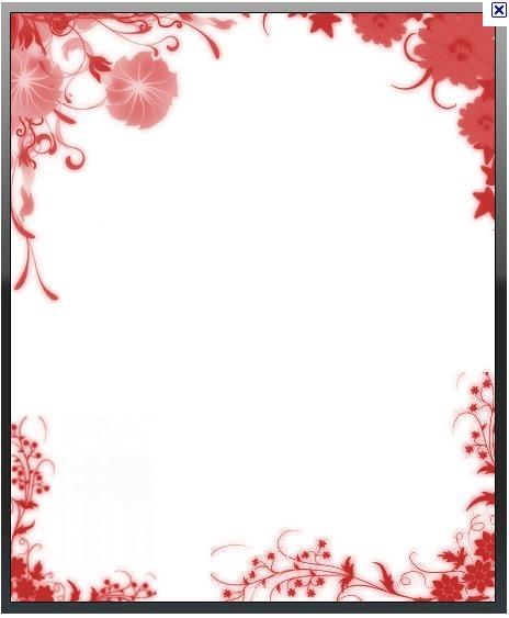 Pin Molduras Para Fotos Flores Quadros Floral 2 Png Genuardis Portal ...