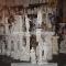 Estatuas e pecas para decoracao em artesanato de gesso. artcunha decoracoes e restauracoes. est. bandeirantes, 829, taquara, rio de janeiro, rj. tel: (21) 2445-1929.