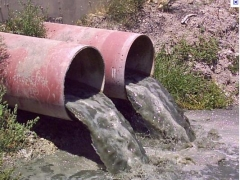 Centro substação de tratamento de água