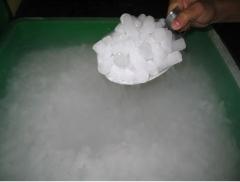 Comércio e distribuição de gelo seco