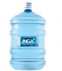 água mineral ingá - garrafão de 20 litros pet água mineral natural