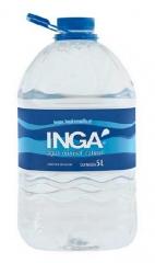 água mineral ingá - garrafãos de 5 litros pet  água mineral natural