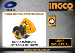 Serra mármore potÊncia de 1200w ingco