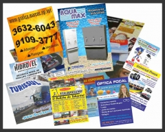 Folders e flyers c/ dobra fr / vs