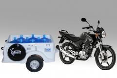 Turbo st para entregas de agua mineral