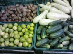 Verduras e frutas