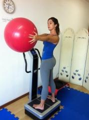 Exercício na plataforma