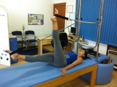 Movimento do método pilates