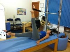 Movimento do método pilates