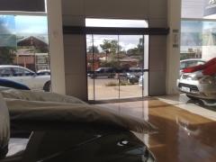 Comercial porta de vidro