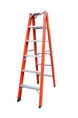 Escada em fibra tipo pintor (dupla)