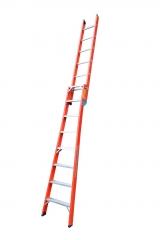 Escada dupla e singela (dois em um)