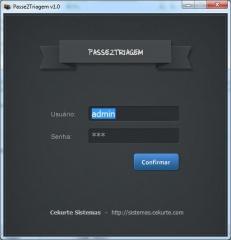 Passe2triagem é um sistema personalizado desenvolvido pela cekurte sistemas.