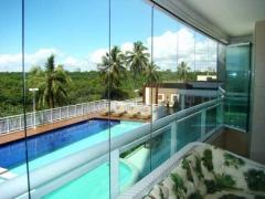 Cortina de vidro - lago sul  brasília-df