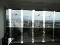 Cortina de vidro - águas claras - brasília - df