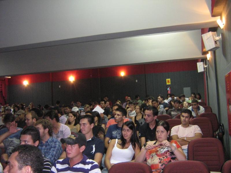 Aula Magna para os cursos de Administração da UNIPAR - Paranavaí.