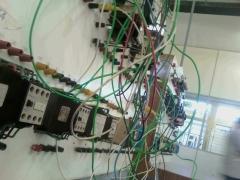 Laboratório de eletrônica.