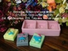 Use borracha de silicone, para fazer estes moldes e formas. onde encontrar e comprar? est. bandeirantes, 829, taquara, rio de janeiro, rj. tel: (21) 2445-1929 / 8558-3595.