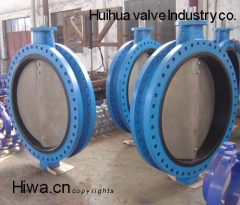 U flange style concentric butterfly valve