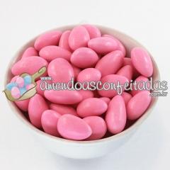 Amêndoas confeitadas rosa classic