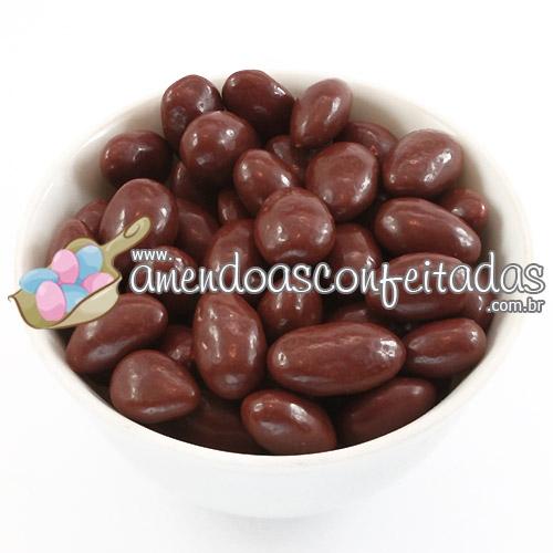 Amêndoas Confeitadas Chocolate