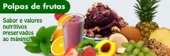 Polpa e frutas congeladas
