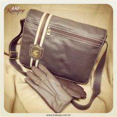Bolsas masculinas de couro kabupy