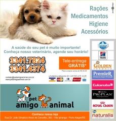 Foto 11 casa e animais - Pet Amigo Animal - Tele Entrega de RaÇÕes Porto Alegre