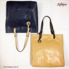 Bolsas gloss de couro = www.kabupy.com.br