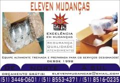 Eleven Mudan�as Completas todo o Brasil Canoas