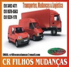 CR FILHOS MUDANÇAS TRANSPORTES FRETES VIAGENS COMPARTILHADAS