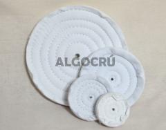 Roda de flanela branca - lustro geral