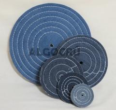 Roda de jeans - polimento em inox, prata, alumínio