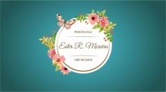 Psicóloga Ester Rodrigues Moreira CRP 08/24619