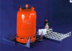 Gober disque água e gás-gás