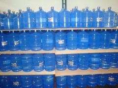 Gober disque água e gás